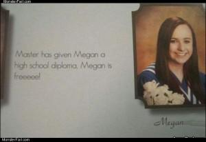 Megan is free