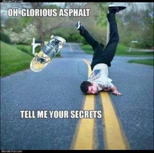 Glorious asphalt
