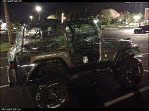 Wrapped your jeep