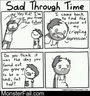 Sad Through Time