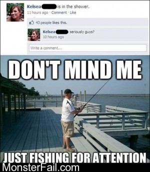 Fishing For Attention