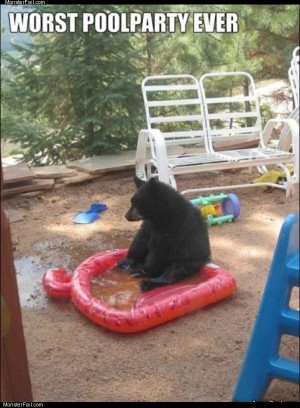 Worst poolparty ever