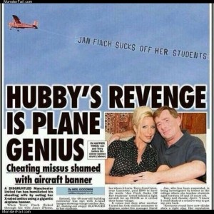 Husbands revenge