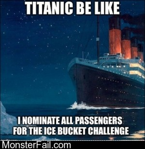 Titanic Be Like
