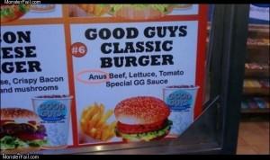 Good guys burger
