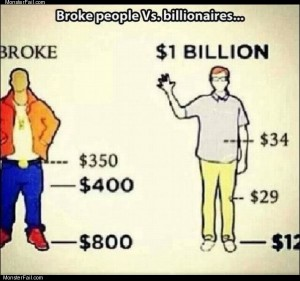 Broke people