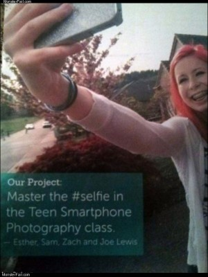 Master the selfie