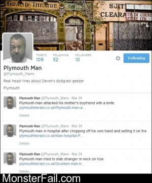 Plymouth Man