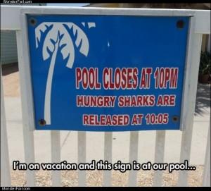 Pool closes