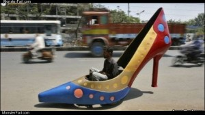 The shoe car