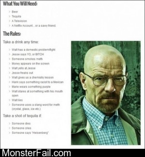 Breaking Bad Drinking Game