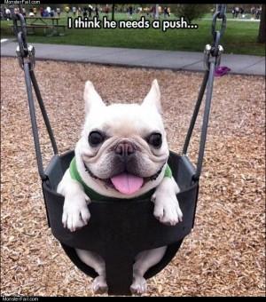 Needs a push