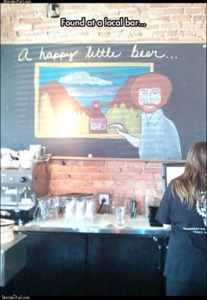 Happy little beer