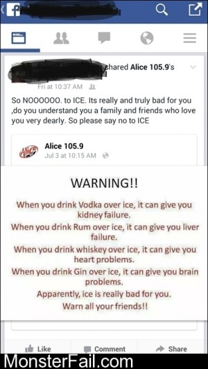 Say No To Ice