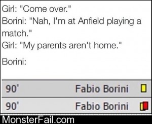 Hurry Up Borini