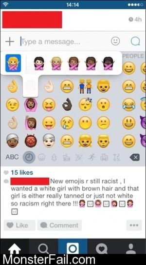 Racist Emojis