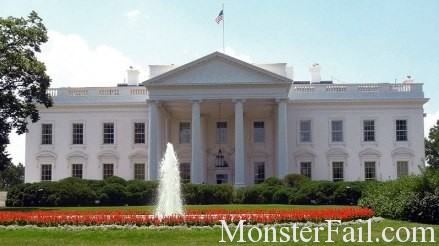White House Fail. 5.9 magnitude quake rocks East Coast