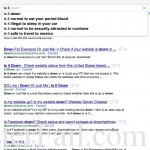 """Type """"is it"""" in google search and watch it fail"""