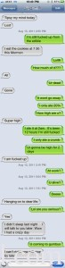 Texting While Overdosed On Edibles Fail.