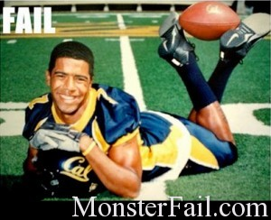 Football player picture fail