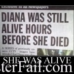 Hours before she died?