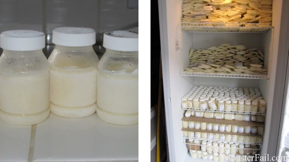 Man to Feed Exclusively On 162 Gallons Of His Wife's Breast Milk