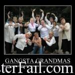 Gangster grand mama
