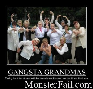 Gangster grand mama