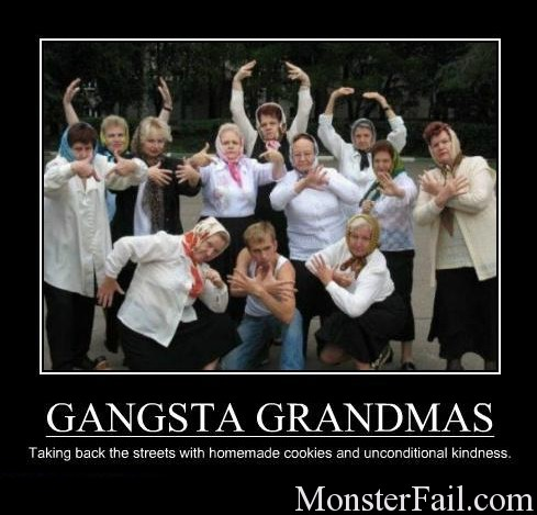 Gangsta Grammas Win