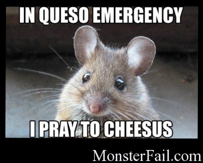 The mouse prayer