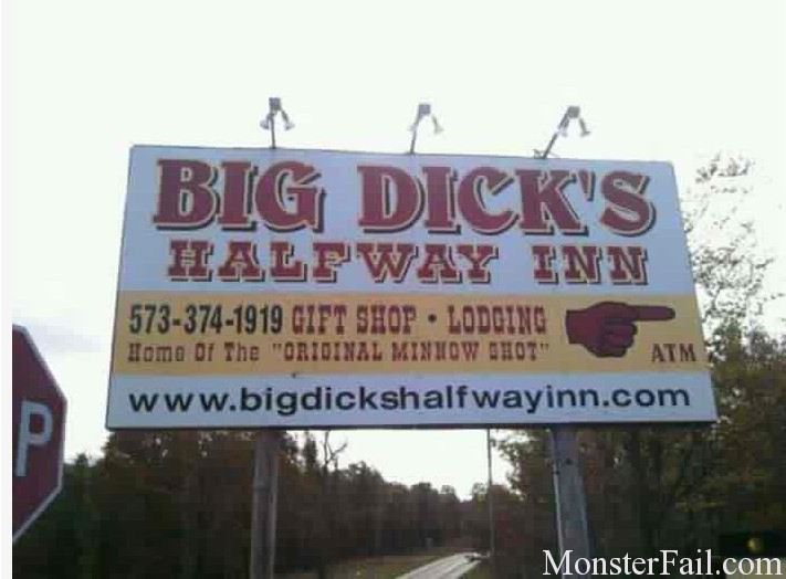 Big Dicks are half way in.