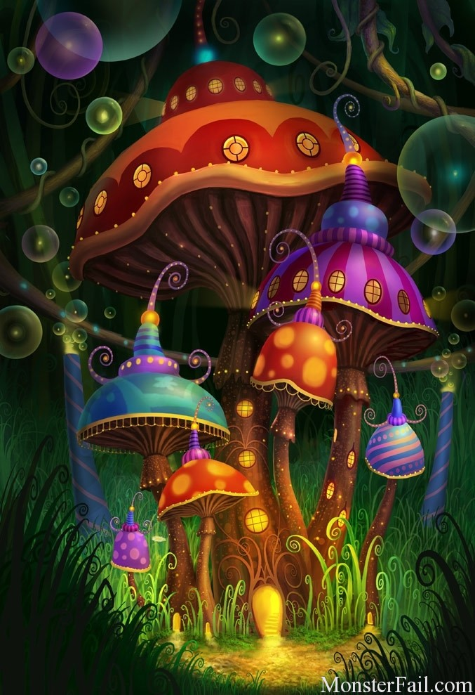 Magic Mushrooms make you a better person.  WIN!