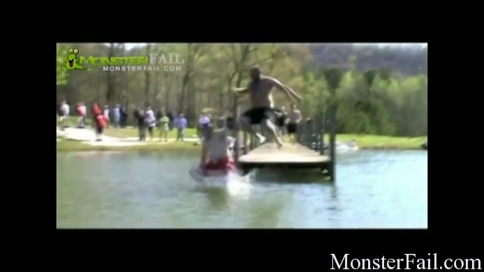 Man camp dive fail.