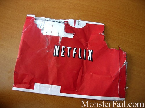 Netflix drops Qwikster.  CEO FAIL.