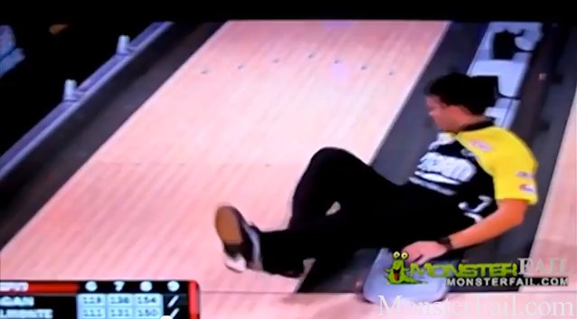 Professional Bowler Fail.