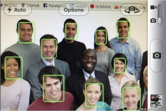 Iphone face recognition fail.