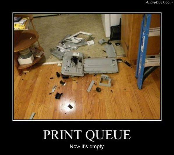 print queue