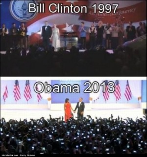 Bill Clinton 1997 vs Obama 2013 Can you see the